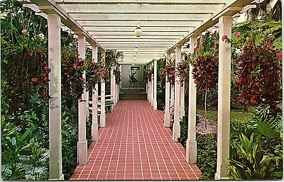 Fort Myers, Florida, Edison Home, Breez-Way - Postcard (K)