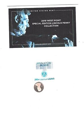 2019-W Proof Lincoln Penny Cent In Original US Mint Packaging