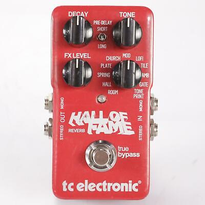 TC Electronic Hall Of Fame Reverb Build 1861 Owned by Fall Out Boy #35878