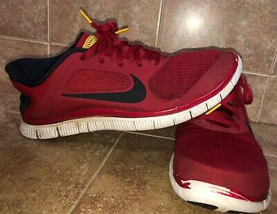 buy online 13737 fcd4d nike free 4.0 v3 livestrong - Red, Black And White - Size 10.5 US