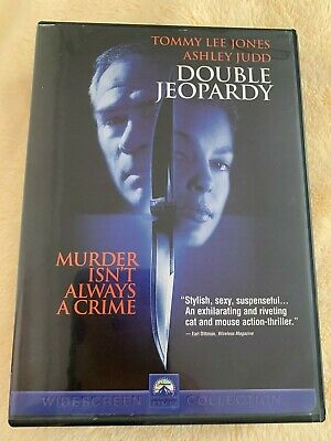 Double Jeopardy Dvd 1999 Vgc
