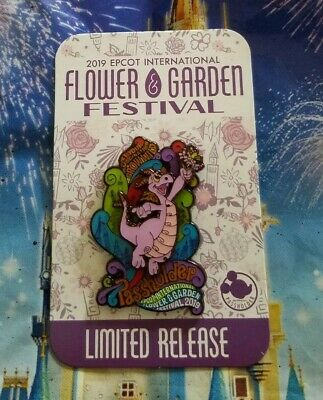 Disney Epcot Flower and Garden Festival 2019 Annual Passholder Figment Pin