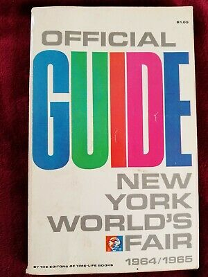 Official Guide New York Worlds Fair 1964/1965
