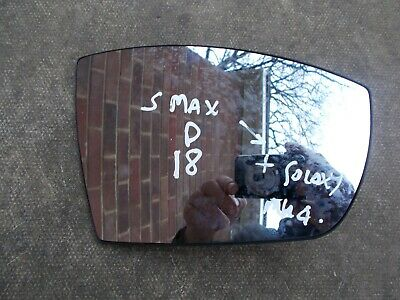 Mazda 5 Mk2 MPV 9//2010-/> Heated Aspherical Wing Mirror Glass Drivers Side O//S