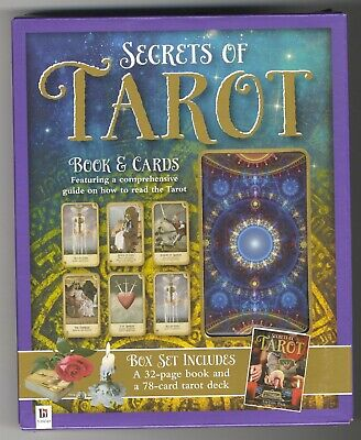 AMANDA HALL: SECRETS OF TAROT, 78-card deck, instruction book, boxed set, New