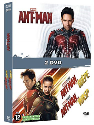 Ant Man + Ant Man & The Wasp DVD NUOVO