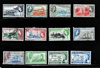 Hick Girl Stamp- Beautiful Used Barbados  Stamp Assortment    M941