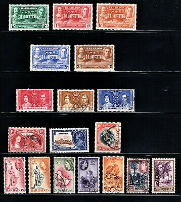 Hick Girl Stamp- Beautiful Used Barbados  Stamp Assortment    M942