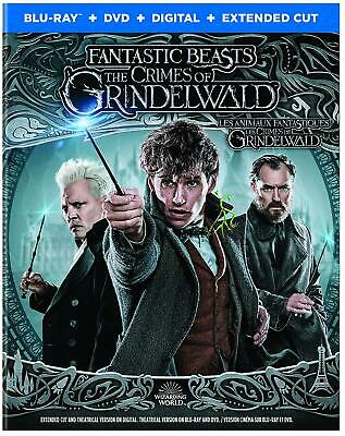 Fantastic Beast: The Crimes of Grindelwald (Blu-ray/DVD/Digital) with Slip 2019