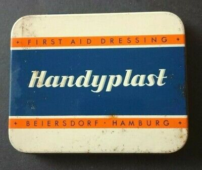 Vintage Collectable Handyplast Tin in Good Condition made in Germany