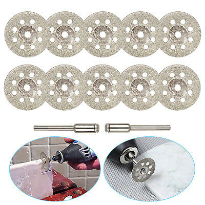 10PCS for Dremel Rotary Tool Diamond Cutting Wheel Saw Blades Cut Off Discs Set