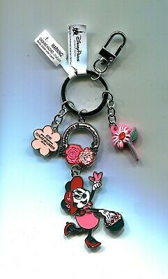 Disney Epcot Flower & Garden 2019 Minnie Happiness Bloom Keychain New with Tags