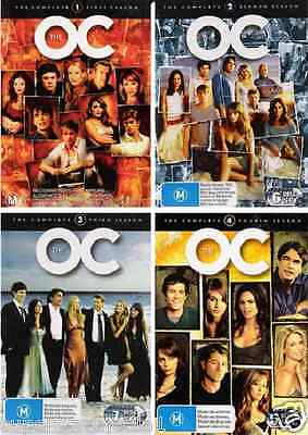 The O.C. Series : COMPLETE COLLECTION Seasons 1, 2, 3 & 4 : NEW DVD