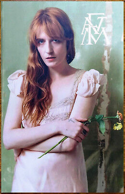 FLORENCE AND THE MACHINE High As Hope Ltd Ed RARE New Litho Tour Poster! FATM