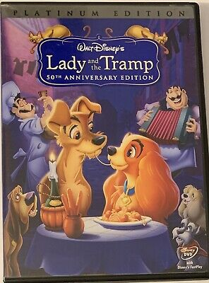 Lady and the Tramp (DVD, 2006, 2-Disc Set, Special Edition) Disney