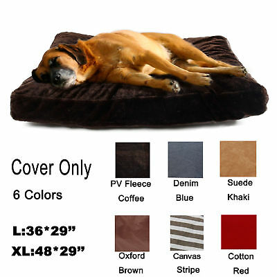 Pet Large Dog Cat Bed Nest Replacement Cover Only Cushion Slipcover Washable