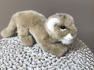 Applause WWF World Wildlife Fund #25650 Lion Cub Stuffed Plush Toy 1986 14""