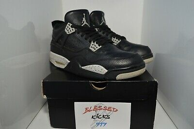 "356d3b695e75b3 NIKE AIR JORDAN 4 Retro ""Oreo"" (2015) Men s Shoes Size 11 US   45 EU ..."