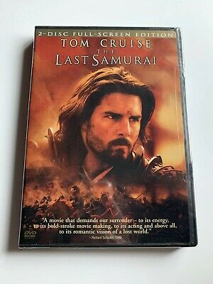 The Last Samurai (DVD, 2004, 2-Disc Set, Full-Screen Version) NEW