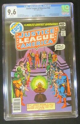 "Justice League of America #168 CGC 9.6...JSA reveal their ""real identities"""