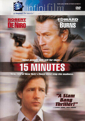 15 Minutes (Infinifilm Edition) *new Dvd**********