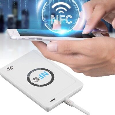 ACR122U RFID NFC Contactless Smart Reader & Writer/USB IC Card Copier 13.56 MHz