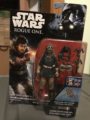 STAR WARS Rogue One 3.75 inch Action Figure - CASSIAN ANDOR (EADU) - BRAND NEW