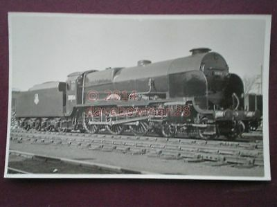 Photo  Sr Maunsell Lord Nelson 4-6-0 30856 Lord St Vincent'  22/4/50