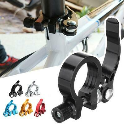 MTB Road Bicycle Seat Post Saddle Clamps Clamp Quick Release 25.4/28.6/31.8mm