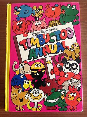 Roger Hargraves Timbuctoo Annual. Before The Mr Men Series.