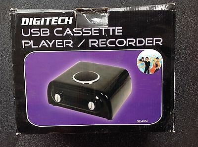 Digitech Cassette Tape To Usb Computer Recorder
