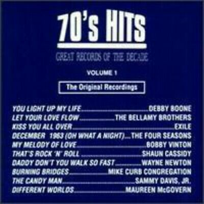 Various Artists - Great Records of the Decade: 70's Hits, Volume 1 CD NEW