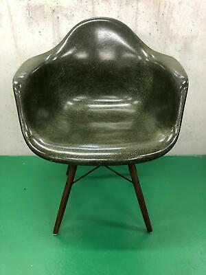 Eames armchair - forest green