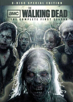 The Walking Dead: The Complete First Season (Season 1) (Special Edition) DVD NEW