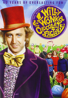 Willy Wonka and The Chocolate Factory (40th Anniversary Edition) DVD NEW