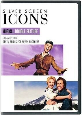 Silver Screen Icons Calamity Jane 1953 / Seven Brides for Seven Brothers DVD NEW