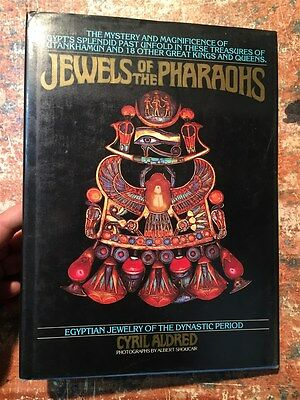 Cyril Aldred: Jewels of the Pharaohs, New York 1978, FARAONI EGITTO GIOIELLI