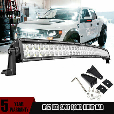 52inch LED Light Bar Curved Combo For Jeep Ford 4X4 Truck 4WD Boat ATV 50'' 54