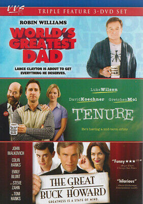 World S Greatest Dad / Tenure / The Great Buck *new Dvd