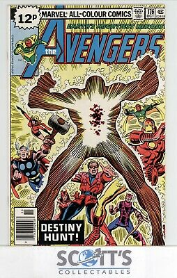 Avengers  #176  Fn+  (Bagged & Boarded)