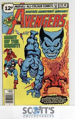 Avengers  #178  Gd   (Bagged & Boarded)