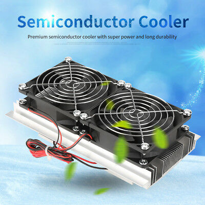120W Semiconductor Thermoelectric Peltier Refrigeration Water Cooling System wtt