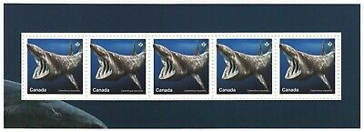 BASKING SHARK = Souvenir Sheet nicely cut from Uncut Press Sheet MNH Canada 2018