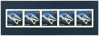 SHORTFIN MAKO SHARK = Souvenir Sheet nicely cut from Uncut Sheet MNH Canada 2018