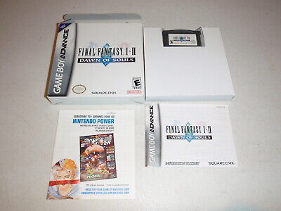 Final Fantasy 1 and 2 Dawn of Souls I & II GBA - Gameboy Advance Complete