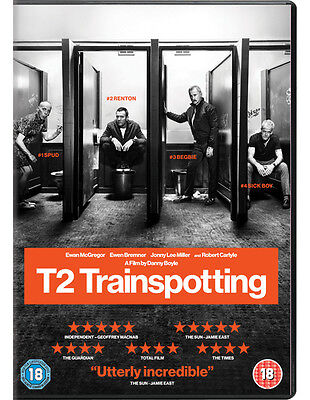 T2 Trainspotting (2017) DVD new sealed with special features + 29 deleted scenes