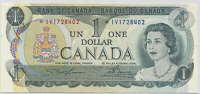 Bank Of Canada Replacement 1 Dollar 1973 *Iv1728402 Bc46Aa - Au