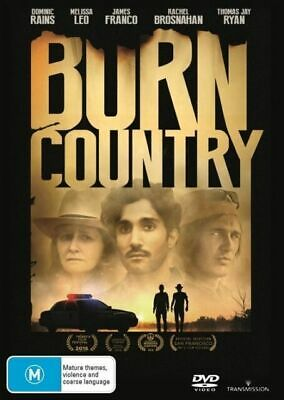 Burn Country (DVD, 2017) NEW