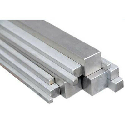 Metric Key Steel Square Bar Keyway Stainless Steel 3mm, 4mm, 5mm, 6mm, 8mm, 10mm