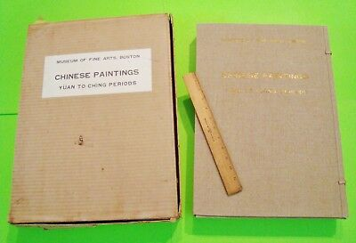 1961 PORTFOLIO OF CHINESE PAINTINGS YUAN to CH'ING PERIODS 178 Plates BOSTON